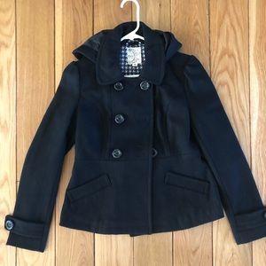 Tulle black winter jacket